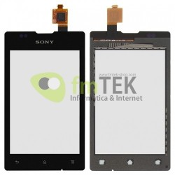 TOUCH SCREEN SONY XPERIA E - C1505 C1605 - PRETO
