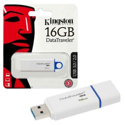 PEN USB DRIVE 16GB USB3.0 - KINGSTON DATATRAVELER 100 G3