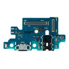 PLACA DE CARGA SAMSUNG GALAXY A40 - A405 - TIPO C + JACK AUDIO 3.5MM + MICROFONE
