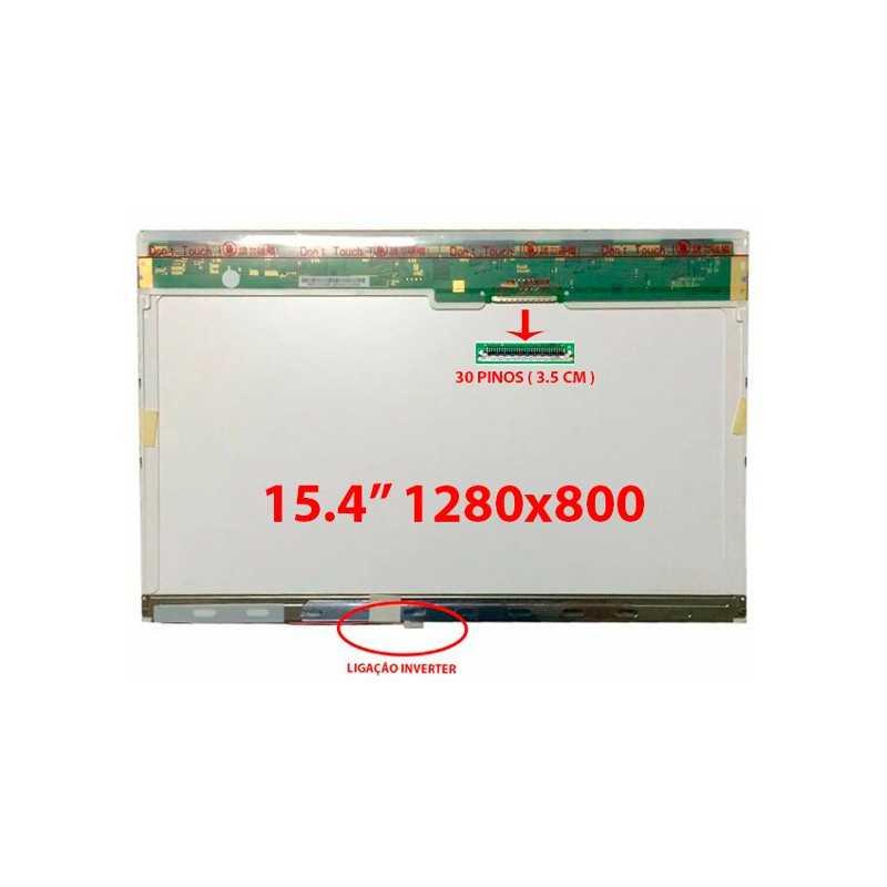 "Ecrã LCD – 15.4"" WXGA (1280x800)"