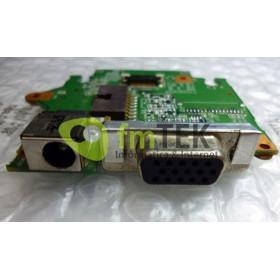 PLACA | PORTAS | MÓDULO VGA/DC POWER JACK/CONECTOR - CCE LEVP - D10H120