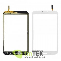 "TOUCH SCREEN SAMSUNG GALAXY TAB 3 - SM-T310 - 8.0"" - BRANCO"
