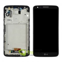 ECRA TOUCH SCREEN + LCD LG G2 - D802 - PRETO