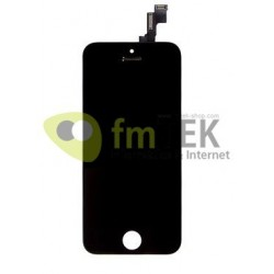 TOUCHSCREEN + LCD IPHONE 5S - A1453 | A1457 | A1518 | A1528 | A1530 | A1533 - ORIGINAL - PRETO