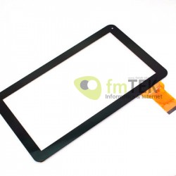 TOUCH SCREEN YTG-P10025-F1 - PRETO 10.1""
